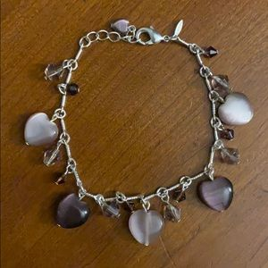 Brand New Silver Charm Bracelet